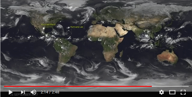 Satellitenfilm September 2017. Quelle EUMETSAT.